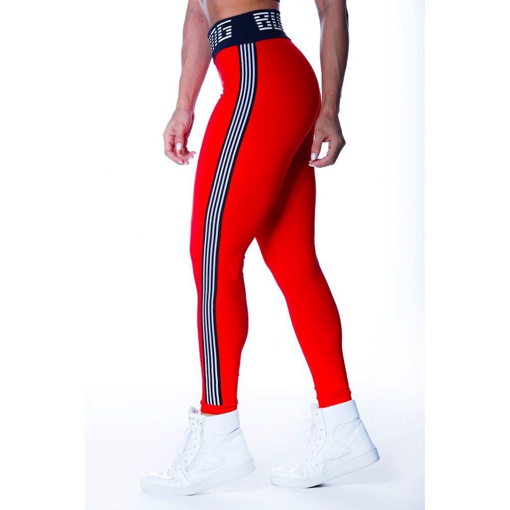 Calça Legging Fitness Speed Vermelha   Compre Online - bulking-mobile 4efb574afd