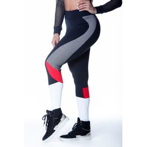 calca-legging-fitness-knockout-preta-com-branco-vermelho-tela-poliamida-bulking-1