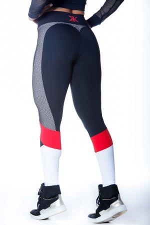 calca-legging-fitness-knockout-preta-com-branco-vermelho-tela-poliamida-bulking-3