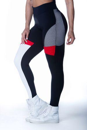 calca-legging-fitness-break-rules-preta-com-branco-vermelho-tela-poliamida-bulking-1