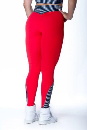 calca-legging-fitness-vermelha-urban-sports-listras-poliamida-academia-bulking-3