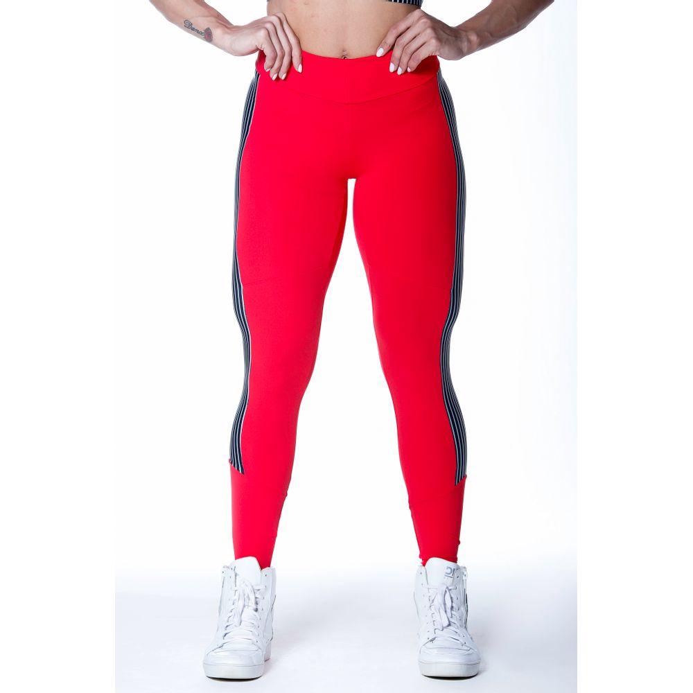 calca-legging-fitness-vermelha-striped-listras-poliamida-bulking-2