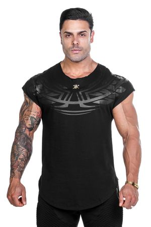camiseta-masculina-algodao-preta-black-empire-bulking-frente
